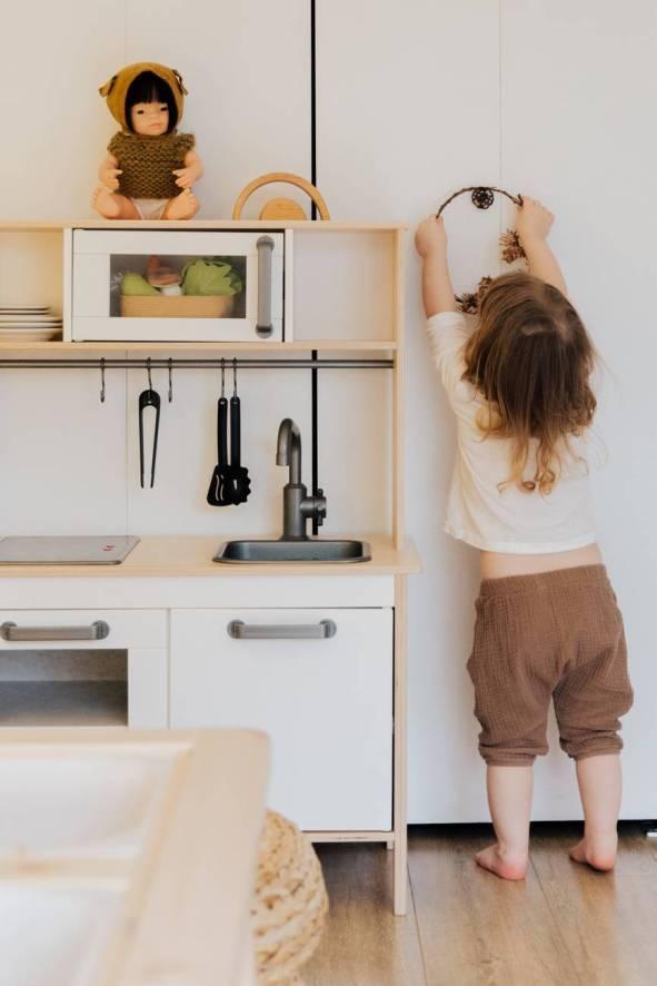Conseguir cocina minimalista